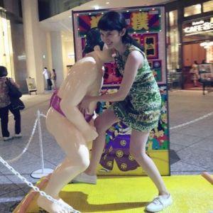 市川紗椰相撲
