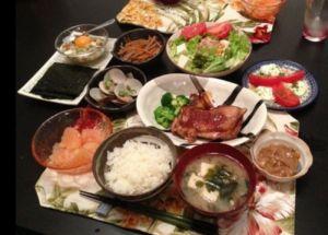 里田まい料理