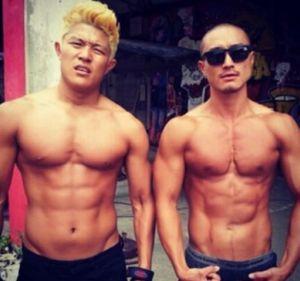 鈴木亮平の筋肉